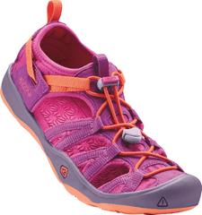 KEEN dívčí sandály Moxie Jr. purple wine/nasturtium