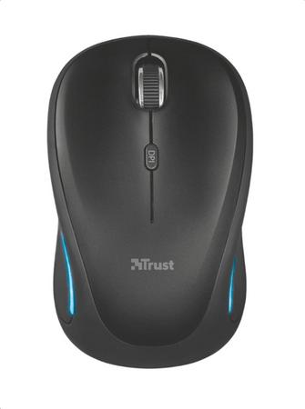 Trust Yvi FX Wireless Mouse - fekete (22333)