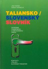 Taraba Ján, Tarabová Mária: Taliansko/slovenský slovník ekonómie finančného a