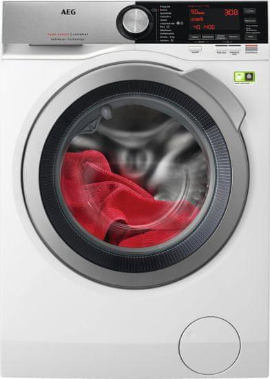 AEG pračka SoftWater L9FEC49SC + doživotní záruka na motor + dárek sada domácích prostředků Jelen