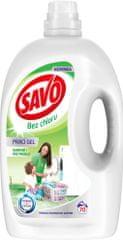 Savo Prací gel na bílé a barevné prádlo 3,5 l (70 praní)