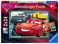 Ravensburger Disney Auta: Dobrodružství McQueen 2x24 dílků