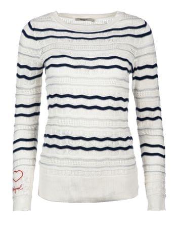 Desigual dámský svetr XS biela