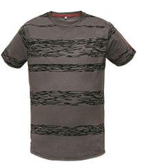Assent Pánske tričko s krátkym rukávom Miller šedá S