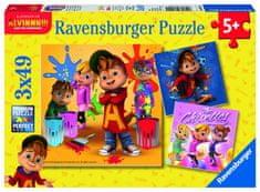 Ravensburger Alvin 3x49 dílků