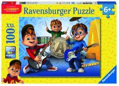 Ravensburger Alvin, Simon,Theodore 100 dílků