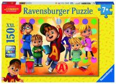 Ravensburger Alvin a jeho přátelé 150 dílků