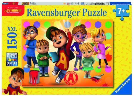 Ravensburger Alvin és barátai 150 darabos