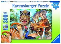 Ravensburger sestavljanka dinozavri, 300 delov