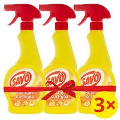 Savo Konyhai tisztító spray 3 x 500 ml