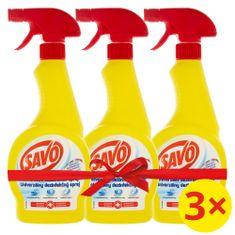 Savo Univerzális fertőtlenítő spray 3 x 500 ml