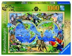 Ravensburger Svet divočiny 1000 dielikov
