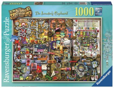 Ravensburger puzzle Szafka wynalazcy 1000 sztuk