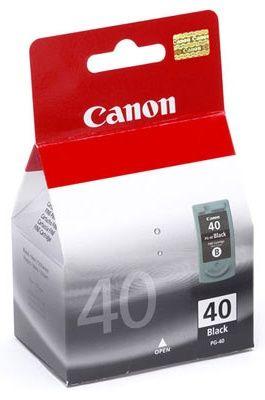 CANON PG40 Tintapatron, Fekete, 16 ml