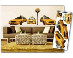 Dimex Dekoračné nálepky na stenu Taxi - 65 x 165 cm