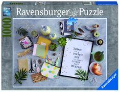 Ravensburger puzzle Zacznij żyć Swoim Snem, 1000 szt.