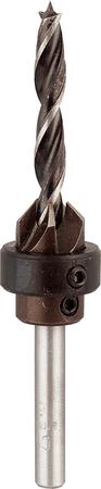 KWB sveder za les z odstranljivim nastavkom za globino, 4 mm (513104)
