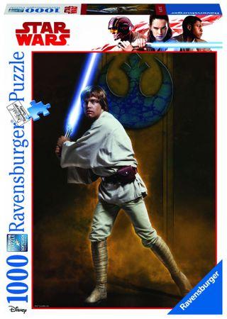 Ravensburger Disney Star Wars: Luke Skywalker 1000 dílků