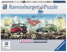 Ravensburger VW-nel az Alpokon át 1000 darab