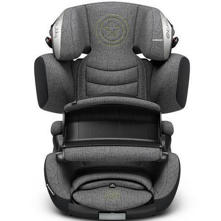 KIDDY fotelik samochodowy Guardianfix 3 2018 Gre Melange, Super Green
