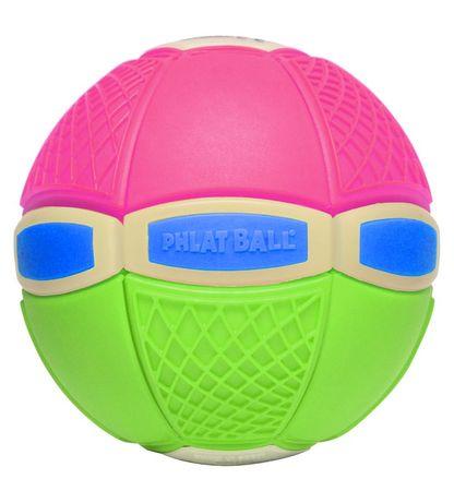 EP LINE Phlat Ball jr világít a sötétben - zöld / rózsaszín
