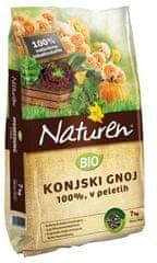 Naturen Naturen bio konjski gnoj v peletih, 7 kg, 50 m2