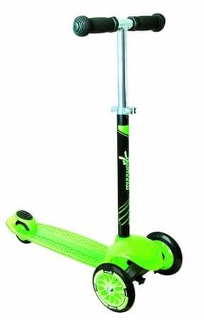 Authentic Dětská tříkolka - zelená, průměr kol 120mm a 80mm