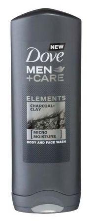 Dove Men + Care gel za tuširanje Charcoal & Clay, 250ml