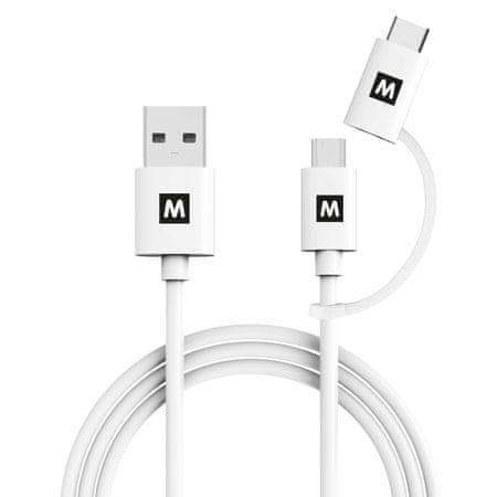 MAX MUC1101W povezovalni podatkovni kabel 1m