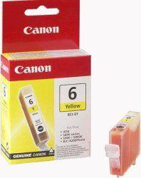 CANON BCI-6Y sárga