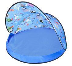 Paradiso šator s 50 loptica, plavi