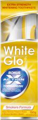 White Glo Zubná pasta Smokers 150 g + kefka + medzizubná kefka