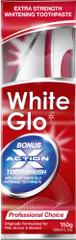 White Glo Zubná pasta Profesional 150 g + kefka + medzizubná kefka