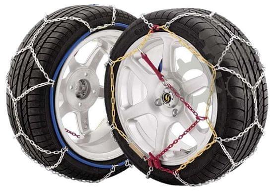 JOPE Snehové reťaze E9/50, krížový vzor, 1 pár, pre osobné vozidlá