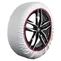 """Sumex Textilné snehové reťaze - tzv. ponožky, pre vozidlá s veľkosťou kolesa: 14""""; 15""""; 16""""; 17""""; 17,5""""; 18""""; 19""""; 20""""; 21"""""""