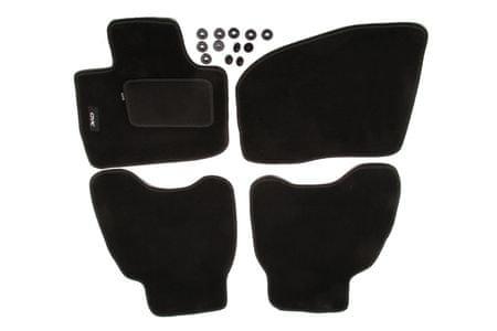 MAMMOOTH Koberce textilní, Honda Civic VIII 2006-2012, černé, sada 4 ks
