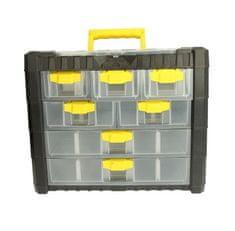 Prosperplast Box na nářadí, 7 zásuvek, rozměr 40 x 32,6 x 20 cm