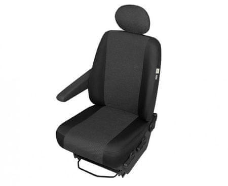 KEGEL Potah na sedačku do dodávek DELIVERY VAN ARES, typ DV 1 (sedadlo řidiče)