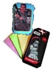 KAJA Darčekový set, súprava do auta, 5 ks, motív Star Wars, špongia Rey, vôňa Oceán