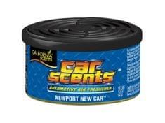 California Scents Vôňa do auta Car Scents - Newport New Car (nové auto), korenistá vôňa, výdrž 2 mesiace