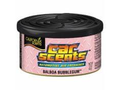 California Scents Vôňa do auta Car Scents - Balboa Bubblegum (žuvačka), sladká vôňa, výdrž 2 mesiace