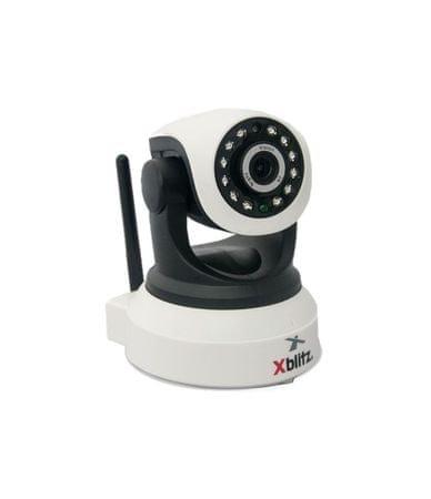 """XBlitz IP kamera iSee P2P WiFi, vnitřní, 1/4"""" senzor, otočná 355°, noční režim"""