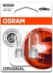 Osram Žárovka typ W5W, 12V, 5W, Standard