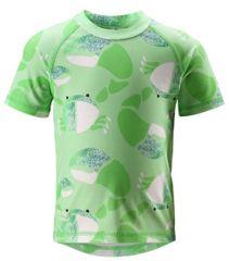 Reima dječja majica s kratkim rukavima Azores UV 50+, green, zelena