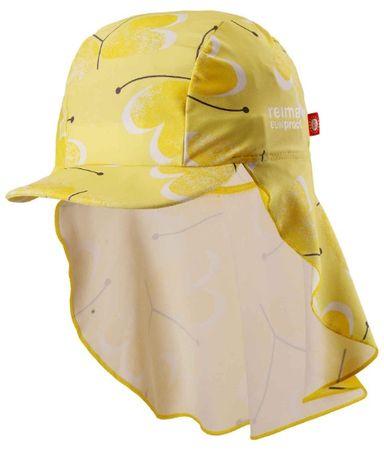 Reima ochronne nakrycie głowy Octopus UV 50+ Yellow 44/46