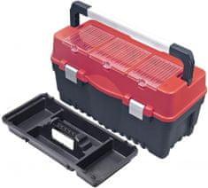 PATROL kovček za orodje Formula Carbo 700 S, Alu rdeča