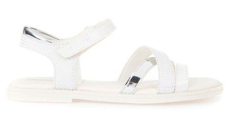 Geox dekliški sandali Karly, beli, 33