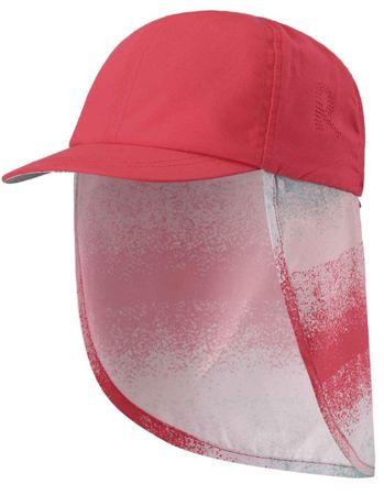 Reima otroška zaščitna kapa Alytos UV 50+, rdeča, 48
