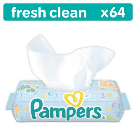 Pampers Chusteczki Fresh Clean x 64 szt.