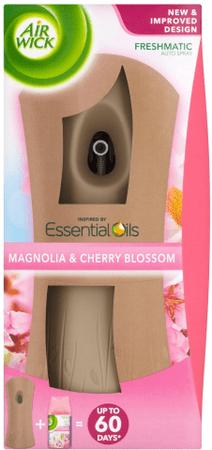 Air wick Freshmatic avtomatski razpršilnik + polnilo Magnolia & Cherry Blossom, 250 ml